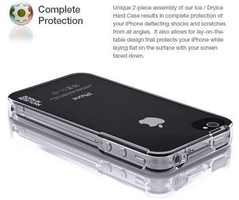 Custodia id America ICE Case per iPhone 4