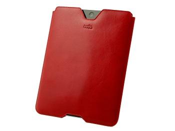 Bella Cases Veneta Slimmer (Red) per iPad 2