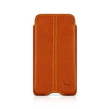 BeyzaCases Zero Series Leather Sleeve per iPhone 4