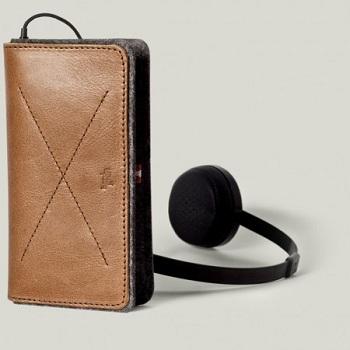 Hard Graft Phone Fold Wallet Heritage per iPhone e iPod