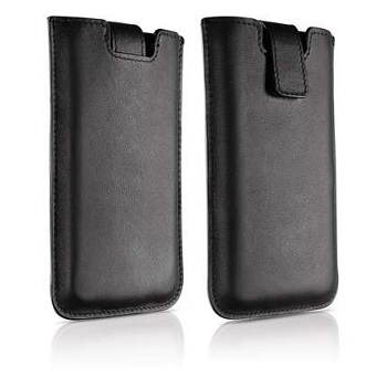 Philips Leather Slim Sleeve per iPhone 4