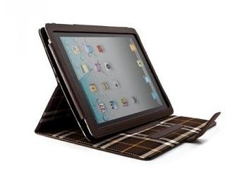 Proporta Aluminium Lined Leather Case per iPad 2