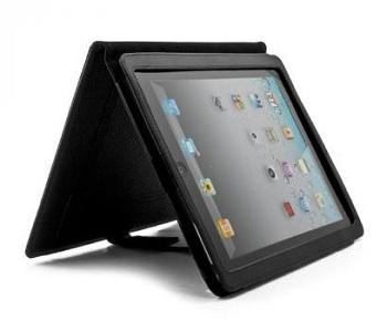 Custodia Proporta in pelle con stand integrato per iPad 2