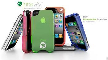 Custodie Innovez serie Bio con EcoPure per iPhone 4