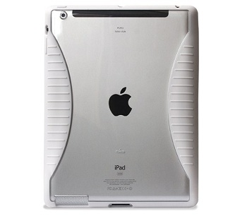 Puro Hybrid Cover (White) per iPad 2