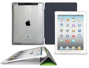 Puro Plasma Cover (Clear) per iPad 2