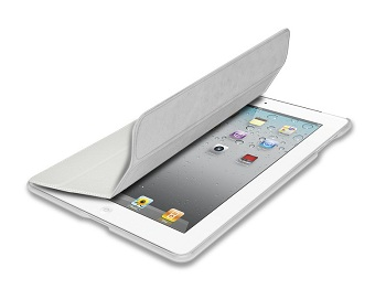Puro Zeta Cover (White) per iPad 2