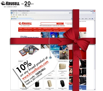 Coupon sconto 10% Krusell per custodie iPhone e iPad