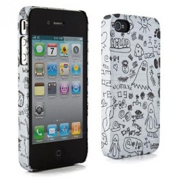 Proporta Cover Scarabocchi per iPhone 4