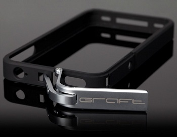 Graft Concepts Metal Leverage Case per iPhone 4S