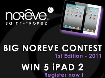 Noreve Big Contest: in palio 5 iPad 2 16GB Wi-Fi