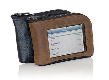 WaterField Designs iPhone Wallet (Brown Muzetto Leather)