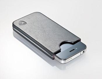 custodia in pelle per iphone 4s