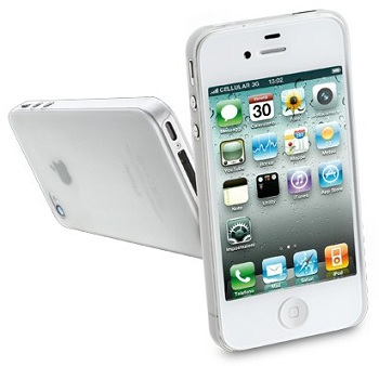 Cellular Line 035 (Frosted Clear) per iPhone 4S
