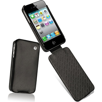 Noreve Tradition (Black Leather) per iPhone 4 e 4S