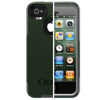 OtterBox Commuter iPhone 4S (Envy Green / Gunmetal Grey)