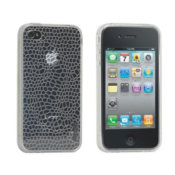 Gecko Gear Illusion (Smoke) TPU Case per iPhone 4S