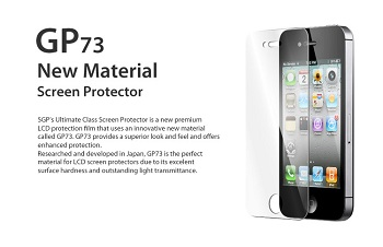 SGP Ultimate Class GP73 Crystal Clear iPhone 4S