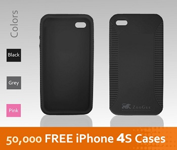 ZooGue Social Shell Case per iPhone 4S (e iPhone 4)