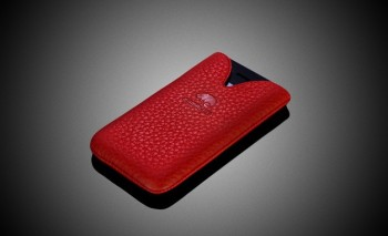 Camalen Tulip (Red) Leather Case per iPhone 4/4S