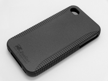 ZooGue Black Social Shell Case per iPhone 4S