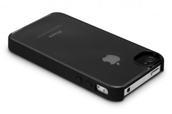 Incase Pro Snap Case (Clear/Black) per iPhone 4S