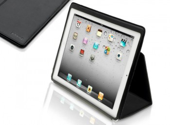 KAVAJ Berlin Leather Case (Black) per iPad e iPad 2