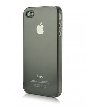 Power Support Air Jacket Clear/Black per iPhone 4 e 4S