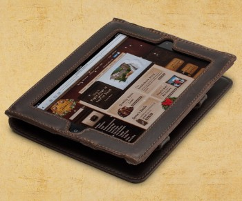 Saddleback Leather iPad Case (Dark Coffee Brown)