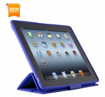 Speck PixelSkin HD Wrap (Cobalt) per iPad 3rd gen