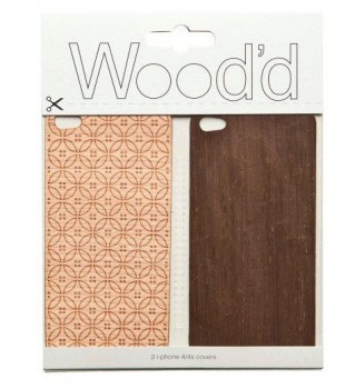 Wood'd skin in legno pregiato per iPhone 4 e 4S