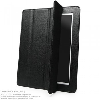 BoxWave iPad 2 Smart Case (Nero Leather)