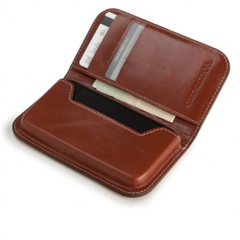 Case-Mate Signature Leather Wallet per iPhone 4 e 4S