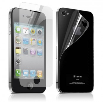 SBS kit pellicole fronte-retro Anti-Glare per iPhone 4 e 4S