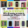 Promo Proporta -20% su tutto il catalogo custodie iPhone