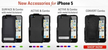 Gamma custodie SEIDIO per iPhone 5