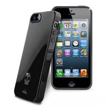 Puro Skull Cover (Black) per iPhone 5