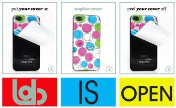 NoGlueLab Skin Cover per iPhone 4/4S