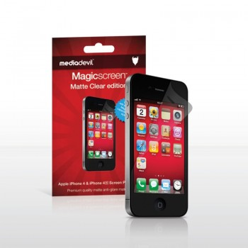 MediaDevil MagicScreen Matte Clear iPhone 4S