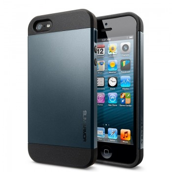 Spigen SGP Slim Armor (Metal Slate) iPhone 5