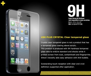 Colorant USG+ Tempered Glass Screen Protector iPhone 5