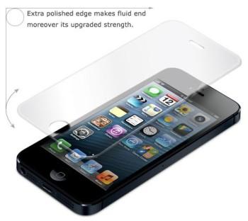 Protezione in vetro temperato per iPhone 5
