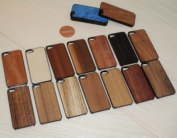 custodia iphone x legno