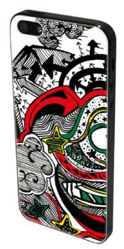 NoGlueLab Skin Cover per iPhone 5 e 5S