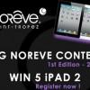 Noreve Big Contest: in palio 5 iPad 2 16GB Wi-Fi