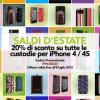 Promo Proporta -20% su tutto il catalogo custodie iPhone